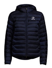 HOODED ETHER COAT - FRENCH NAVY