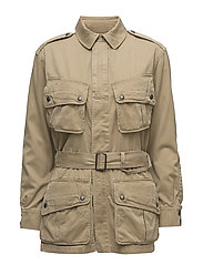Cotton Twill Jacket - BARRACKS TAN
