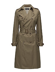 MRY TRNCH CT-COTTON-COAT - MADISON TAN