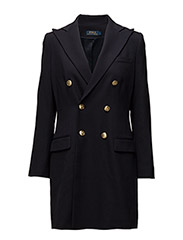 Double-Breasted Wool Blazer - COLLECTION NAVY