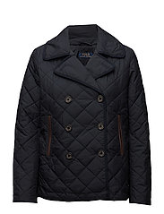 QLTD PCT-POLY FILL-JACKET - COLLECTION NAVY