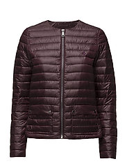 LT WT PK JKT-DOWN FILL-JACKET - AGED WINE