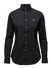 KENDALL LS SHIRT - POLO BLACK
