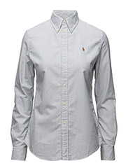 Custom Fit Cotton Oxford Shirt - BSR BLUE/WHITE