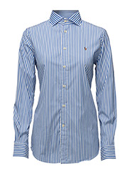 Striped Poplin Shirt - 303F BLUE/WHITE