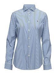 Striped Poplin Shirt - 303F BLUE/WHITE