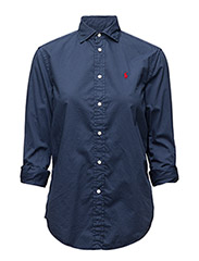 Relaxed-Fit Cotton Shirt - NEWPORT NAVY