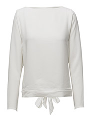 Cady Tie-Back Top - PAPER WHITE