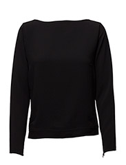 Cady Tie-Back Top - POLO BLACK