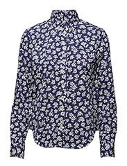 Floral Print Poplin Shirt - KARYN FLORAL