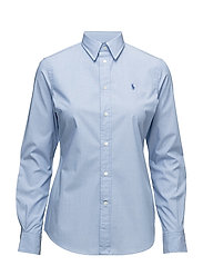 SLIM-FIT KENDAL LONG SLEEVE - 325F BLUE/WHITE