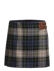 BROMLEY KILT SKIRT - CHESIRE BLUE TA