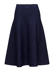 PULL ON SKIRT - NEWPORT NAVY