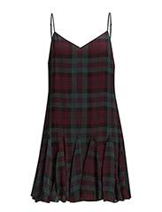 NEW TANIJA SL CASUAL DRESS - DIXON PURPLE/GR