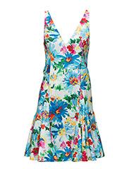 SL MAGNOLIA DRESS - MULTI FLORAL W