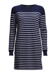 SYDNEY LS CASUAL DRESS - BLUE MOOD/CLASS