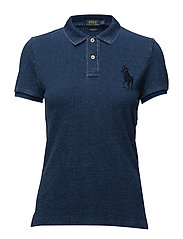 Skinny-Fit Big Pony Polo Shirt - DARK INDIGO