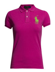 BPP POLO SS KNT - MADISON PINK