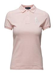 Skinny-Fit Big Pony Polo Shirt - ROSE QUARTZ