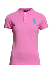 BPP POLO SS KNT - TAYLOR PINK