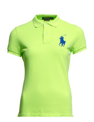 BPP POLO SS KNT - ULTRA LIME NEON