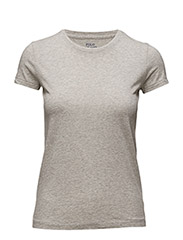 HOLLY TEE SS KNT - LIGHT/PASTEL GR