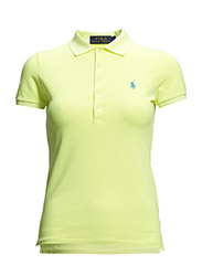JULIE POLO SS KNT - SAFETY YELLOW N