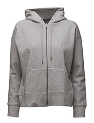 Fleece Full-Zip Hoodie - ANDOVER HEATHER
