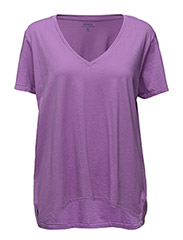 V-Neck Tee - RESORT PURPLE