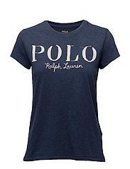 Cotton Jersey Polo Tee
