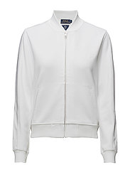 BOMBER-JACKET - PURE WHITE