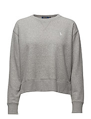 LS CN-LONG SLEEVE-KNIT - ANDOVER HEATHER