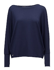 French Terry Pullover - FRENCH NAVY