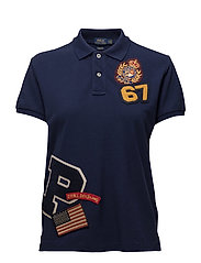 CLASSIC FIT-SHORT SLEEVE-KNIT - NEWPORT NAVY
