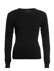 JULIANNA PP LS SWT - POLO BLACK