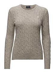 Wool-Cashmere Crewneck Sweater - LIGHT VINTAGE H