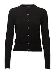 Pima Cotton Cardigan - POLO BLACK