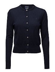CARDIGAN-LONG SLEEVE-SWEATER - HUNTER NAVY