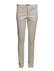 BROOKE SKINNY CHINO PANT - MORNING CREAM
