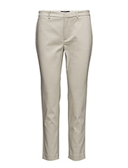 Stretch Cotton Skinny Pant - CLASSIC STONE