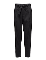 Twill High-Rise Pant - POLO BLACK