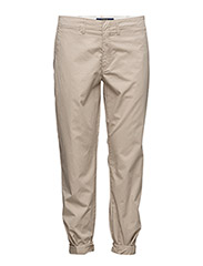 Cotton Boyfriend Pant - BOATING KHAKI