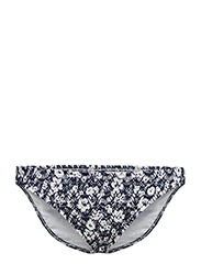 CROCHETED FLORAL HIPSTER - RIVERIA NAVY