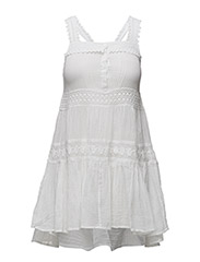 COTTON VOILE COVER-UP - WHITE