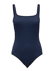 SCOOP-BACK ONE-PIECE - RIVERIA NAVY