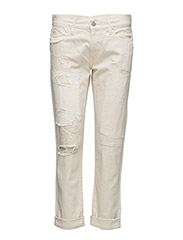 ASTOR SLIM BOYFRIEND JEAN - CREAM