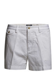 SLOANE CHINO SHORT - WHITE