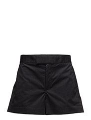STRETCH COTTON TWILL SHORT - POLO BLACK