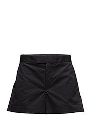 STRETCH COTTON TWILL SHORT - POLO BLACK