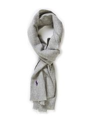 SCARF - MEDIUM GREY HTH